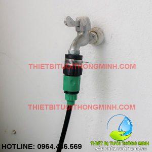 Bộ đầu nối vòi nước romine và nối ống 10mm (nhập khẩu úc loại tốt)
