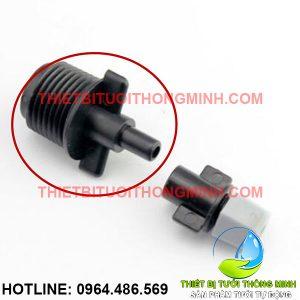 Bộ vòi phun sương 1 hướng gắn ống cứng ren ngoài 21