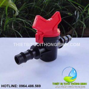 Van khóa nối 2 đầu ống 10mm