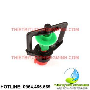 Béc tưới phun mưa xoay tròn 360 họng 6mm (nhập khẩu úc loại tốt)