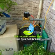 Bộ van nước hẹn giờ dùng điện (công tắc hẹn giờ + van điện từ) tưới tự động