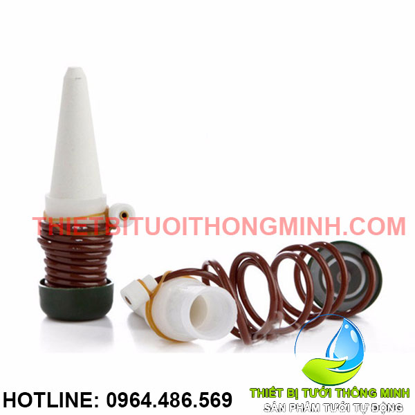Bộ đầu dây tưới nhỏ giọt hút nước cắm chậu cây thông minh