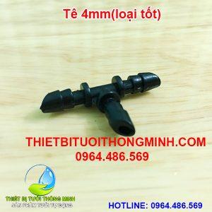 Tê 4mm chia nhanh (gắn 3 đầu ống mềm 4mm)