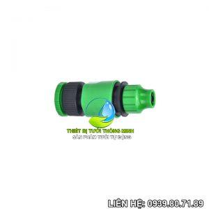 Bộ đầu nối ren trong 21mm 27ly sang đầu nối ống 10mm Florain (nhựa cao cấp)