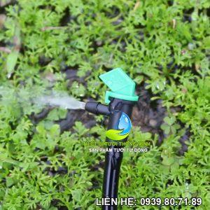 Béc tưới nhỏ giọt 1 vòi điều chỉnh Florain 1-30 lít/giờ (nhựa cao cấp thái lan)
