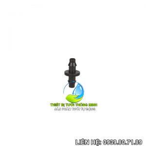 Nối thẳng ống 6mm đầu khởi thủy gắn ống Pe16mm Florain(nhựa cao cấp)