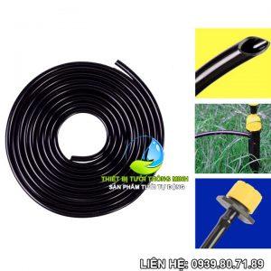 Ống dây mềm tưới nhỏ giọt 6mm Florain (nhựa cao cấp thái lan)