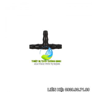 Tê nối ống 6mm Florain (nhựa cao cấp)