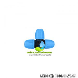 Tê nối ống 12mm Florain (nhựa cao cấp thái lan)