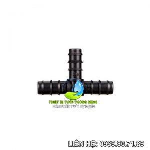 Tê nối ống 16mm pe (nhựa cao cấp)