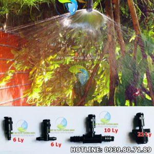 Béc tưới phun mưa 1 hướng 180 độ FLorain