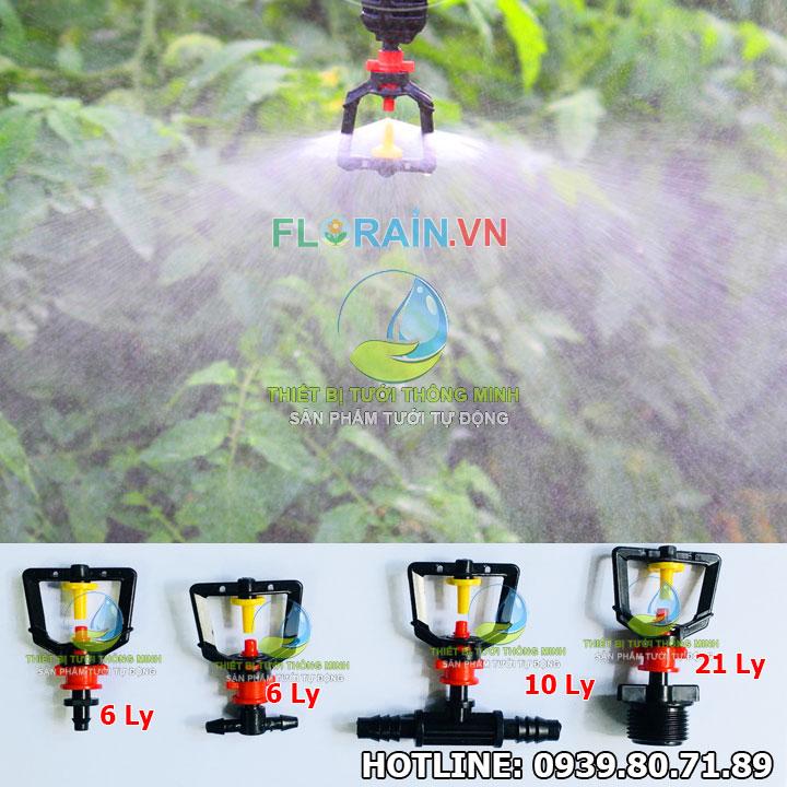 Đầu tưới phun sương mịn 360 Florain