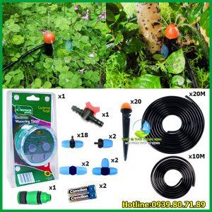 Bộ tưới tự động nhà phố phun nước cao cấp Kingfisher (dùng pin)