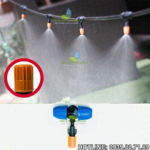 Béc phun sương tưới cây 1 tia cam gắn ống 12mm Malee Mist-1B
