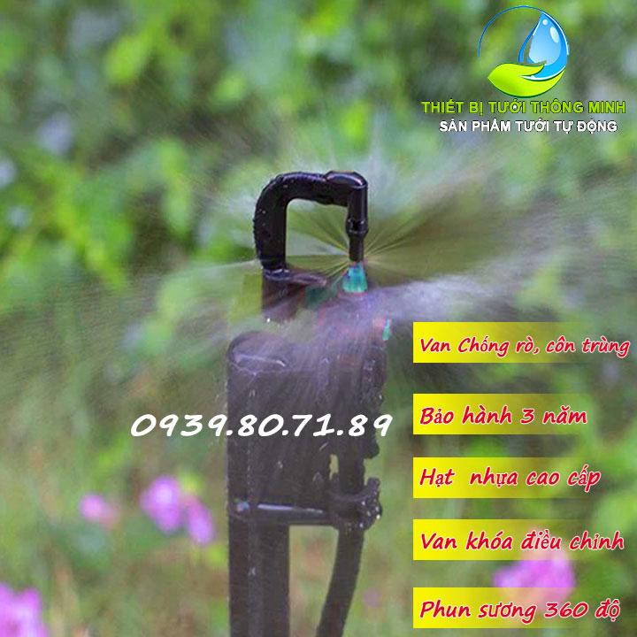 Đầu tưới phun sương 360 độ Mini Sprinkler PRO-3