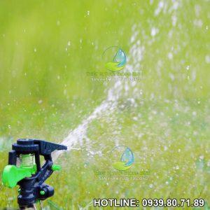 Đầu phun nước tưới cỏ cánh đập impact sprinkler PRO nhựa