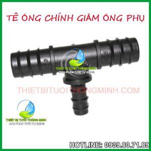 Tê ống chính giảm ống nhánh dẫn nước