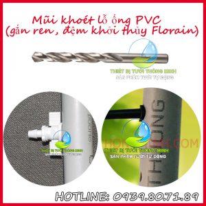 Mũi khoét lỗ đầu khởi thủy ống cứng PVC