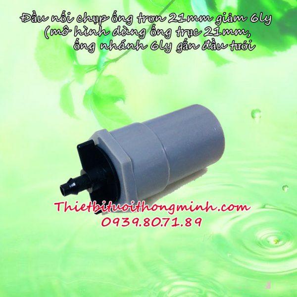 Nối thẳng 21 giảm ống 6mm Florain