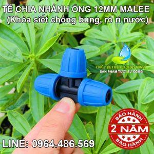 Tê nối ống 12mm Malee