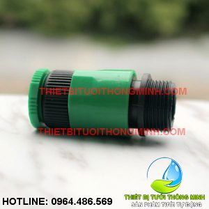 Bộ đầu nối ren trong 21mm vòi nước romine sang đầu nối ren ngoài 21mm (nhập khẩu úc loại tốt)