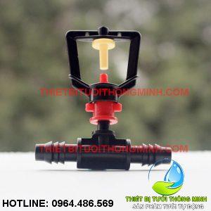 Bộ béc phun mưa tròn 360 độ kèm đầu nối ống 10mm (nhập khẩu úc loại tốt)