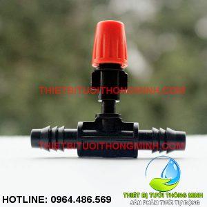 Bộ béc phun sương 1 hướng cam kèm đầu nối ống 10mm (nhập khẩu úc loại tốt)