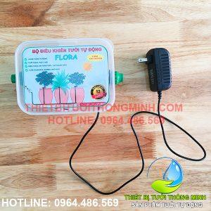 Bộ điều khiển tưới tự động FLORA dùng điện 12V (adapter 220- 12VDC)