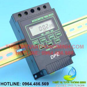 Bộ hẹn giờ máy bơm nước, van điện từ tưới cây tự động DPE-25A