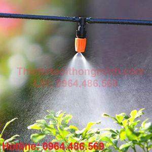 Bộ phun sương tưới lan tự động 12 đầu tưới 1 tia FLORA