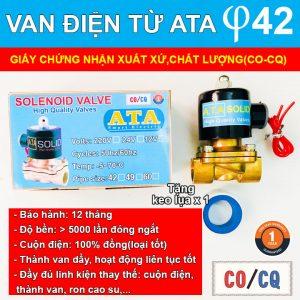 Van điện từ phi 42 DN 35 ATA