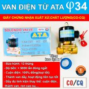 Van điện từ phi 34 DN 25 ATA
