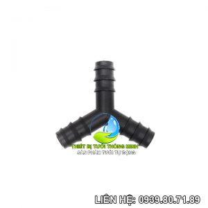 Y nối ống 16mm pe Florain (nhựa cao cấp)