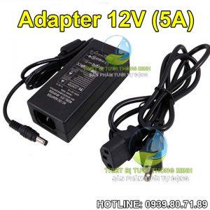 Adapter 12V 5A nguồn máy bơm 70W Florain