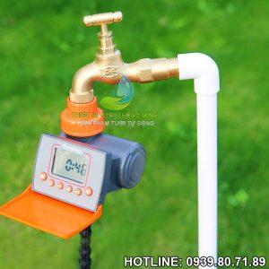 Máy hẹn giờ tưới nước tự động dùng pin cao cấp Punstep