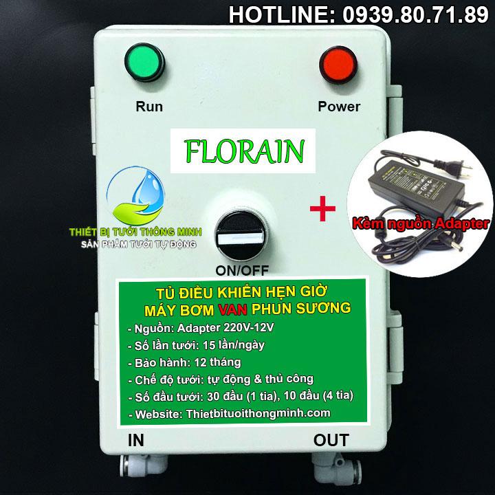 Bộ điều khiển hẹn giờ máy bơm phun sương van tự động Florain