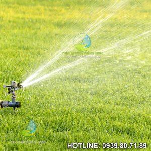 Đầu tưới cỏ cánh đập impact sprinkler PRO-1 cao cấp thép không gỉ