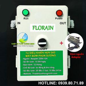Bộ máy bơm hẹn giờ tưới lan tự động Florain