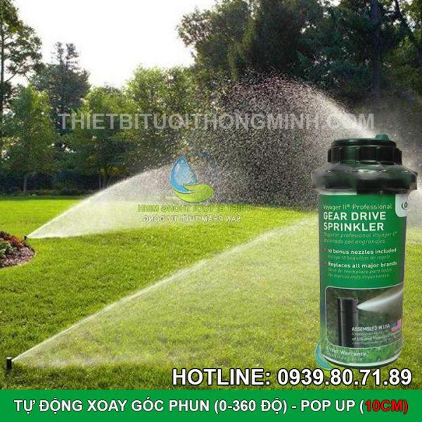 Đầu tưới cỏ pop up tự động xoay Sprinkler PRO-V