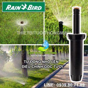 Đầu béc tưới cỏ phun nước mưa pop up 10cm cao cấp chỉnh góc