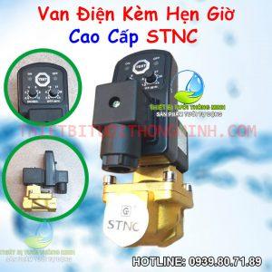 Van điện từ hẹn giờ cao cấp STNC dùng điện 220VAC