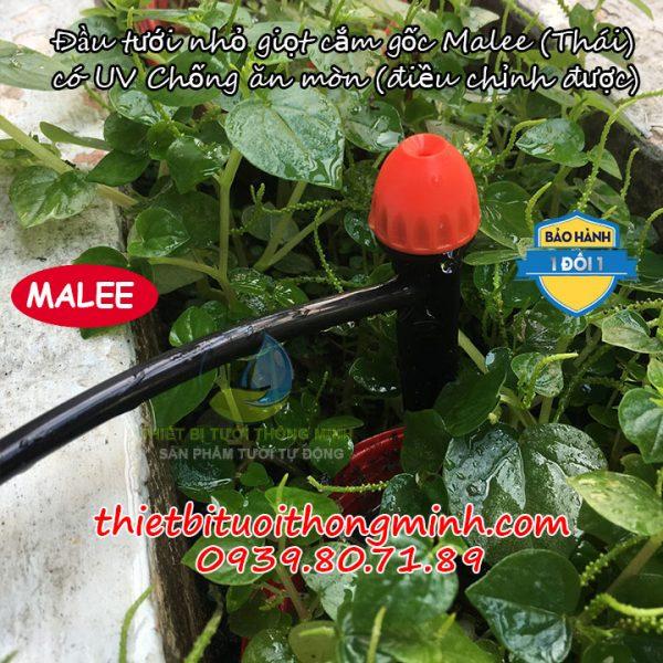 Đầu tưới nhỏ giọt cắm gốc Malee