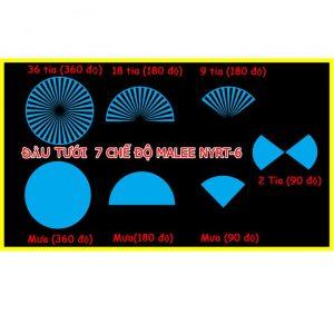 Đầu tưới cắm gốc phun nước 7 chế độ Malee NYRT-6