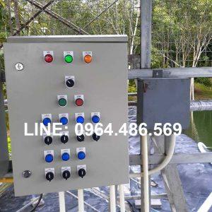 Lắp đặt tủ điều khiển tưới từ xa bằng điện thoại 1 2 3 4 5 6 kênh van điện từ bơm