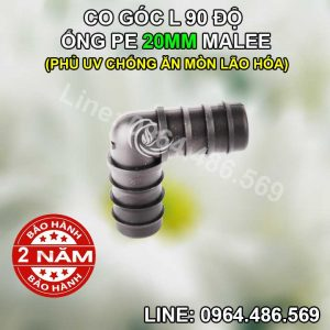 Co L ống pe 20mm Malee