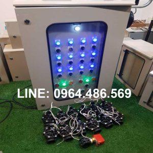 Báo giá tủ điều khiển tưới tự động hẹn giờ 1 2 3 4 5 6 7 8 kênh van máy bơm ATA